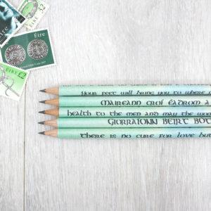 irish and english translations of ancient irish proverbs gifts for irish fans 1