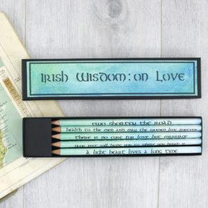 Irish wisdom on love quotes as gaeilge
