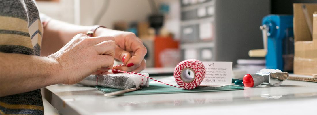 packaging materials six0six design maker at work
