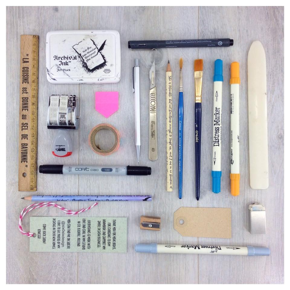 flatlay day 9 of march meet the maker