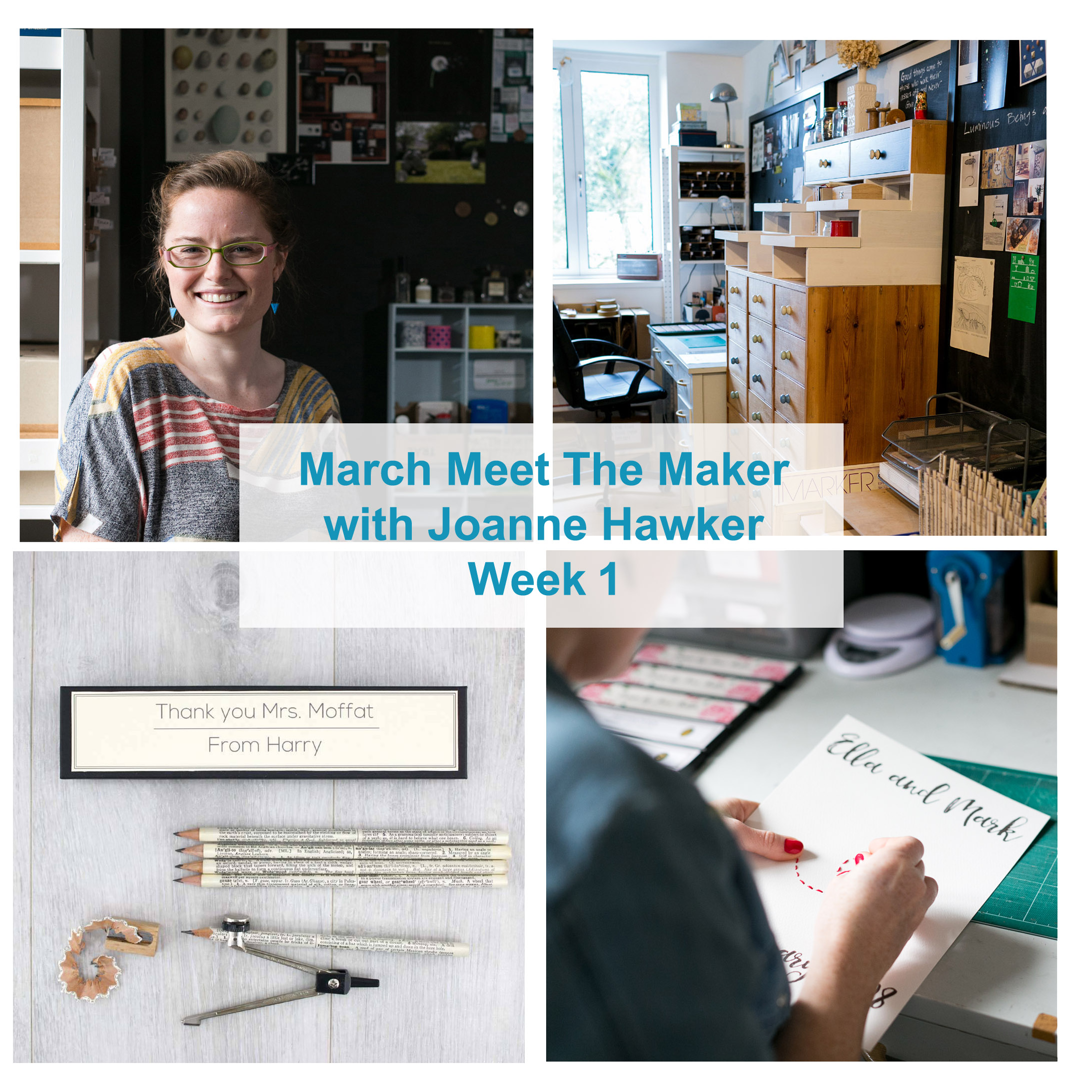 march meet the maker with joanne hawker week 1
