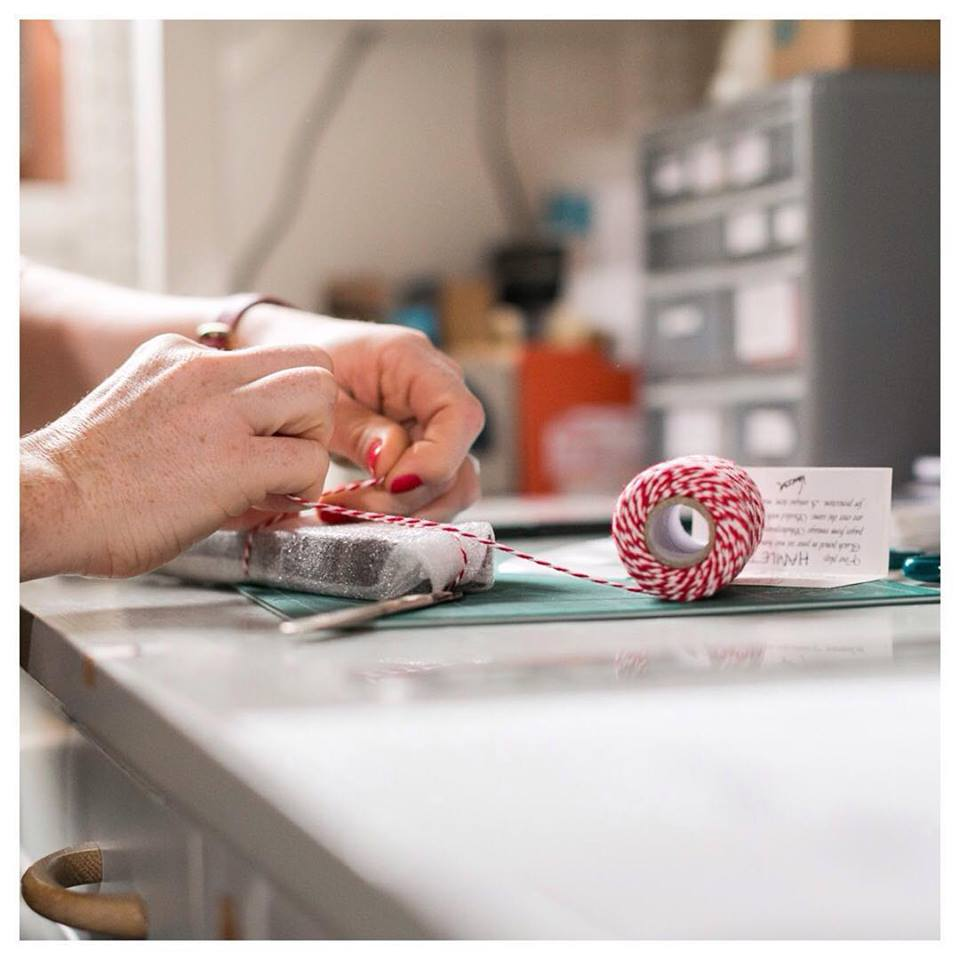 post and packaging orders at six0six design