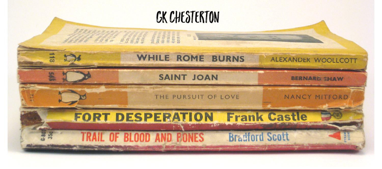 GK Chesterton on fiction