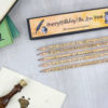 personalised little women pencil sets gifts for book lovers