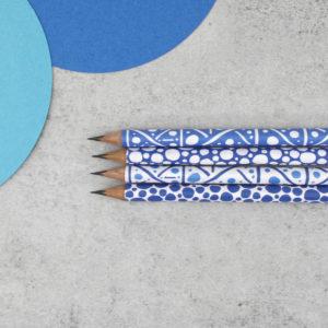 graphic design pencils made in Ireland six0six design