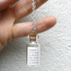 name meaning gift new mum keepsake pendant six0six design