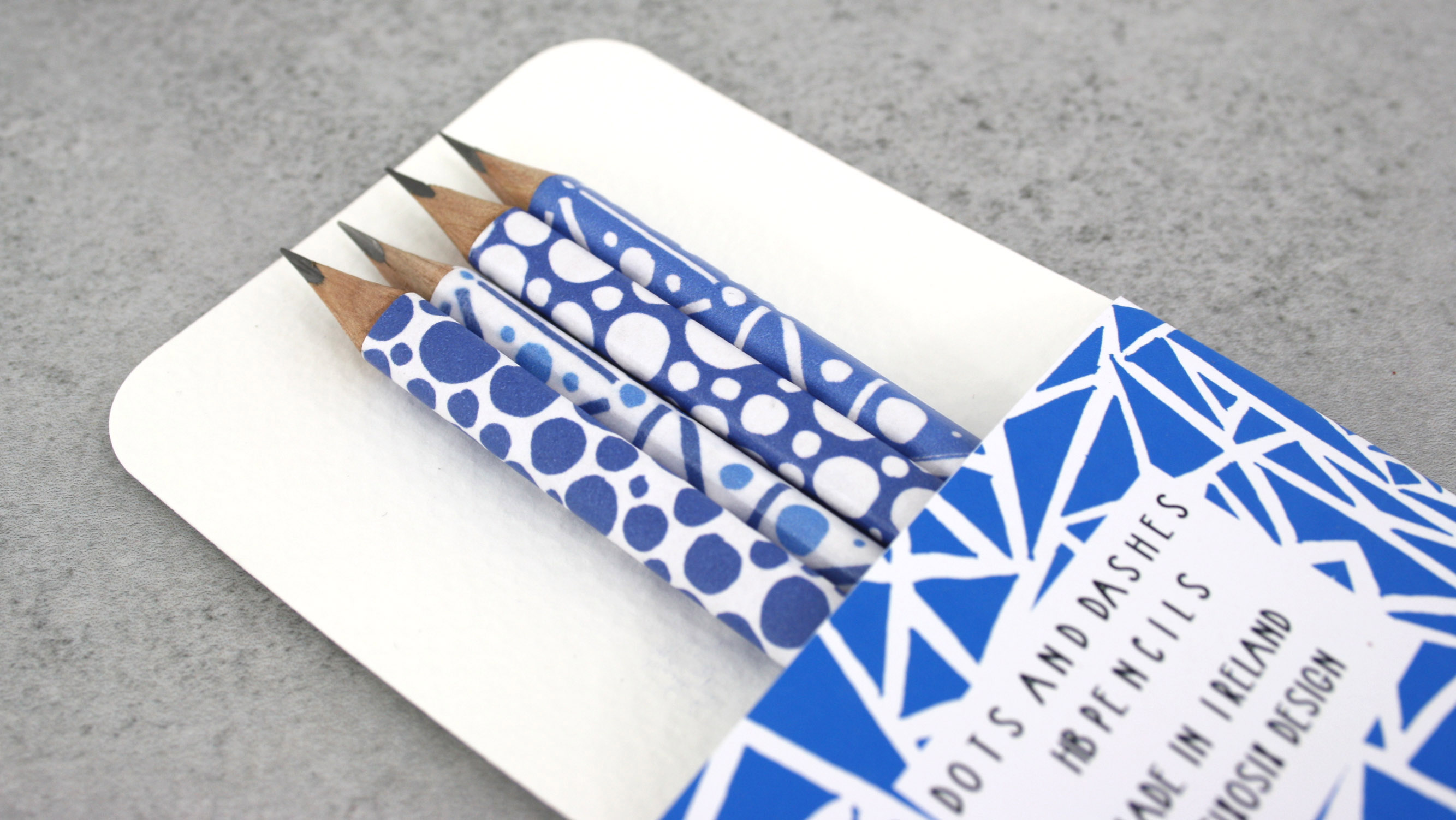 dots and dashes pencils a new design direction