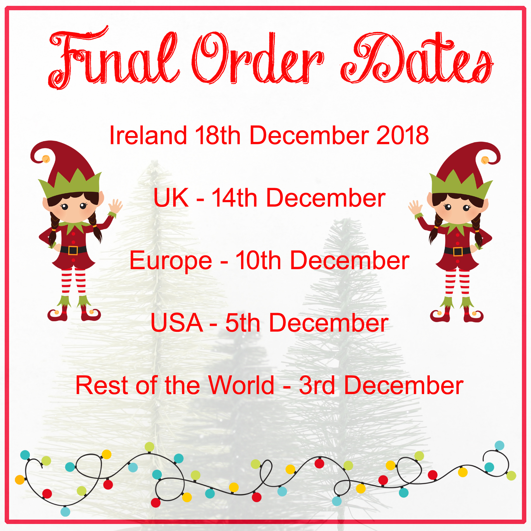 final order dates christmas 2018 six0six design gifts for book
