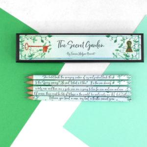 the secret garden pencils for girls