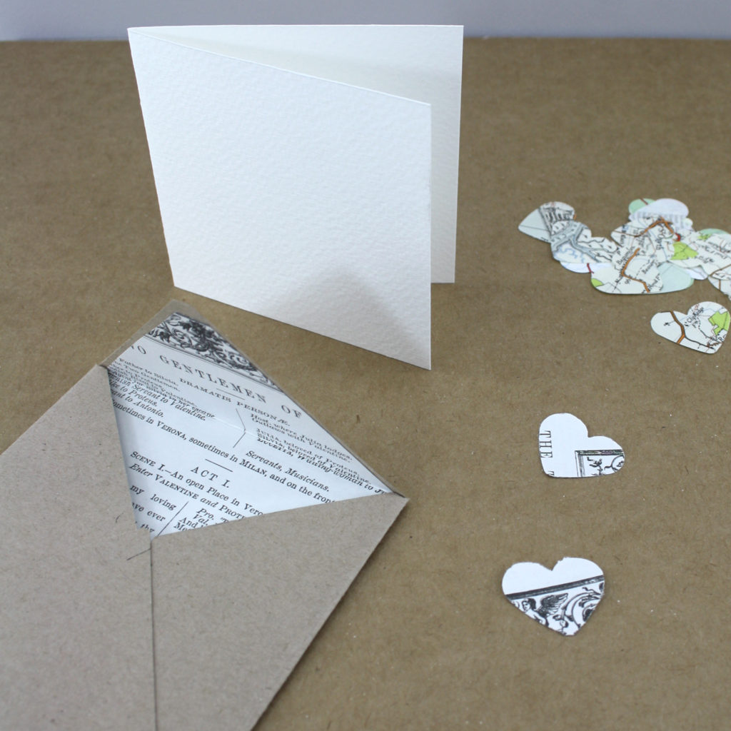 adding the finishing touches to your envelope stationery project