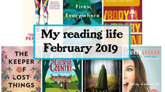 my reading life February 2019