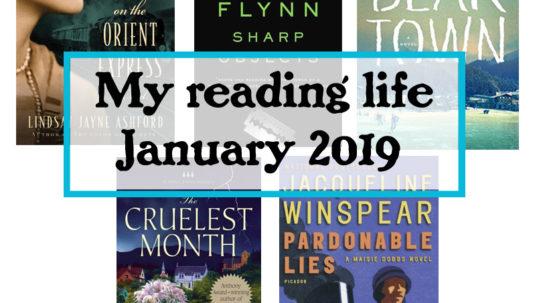 my reading life January 2019