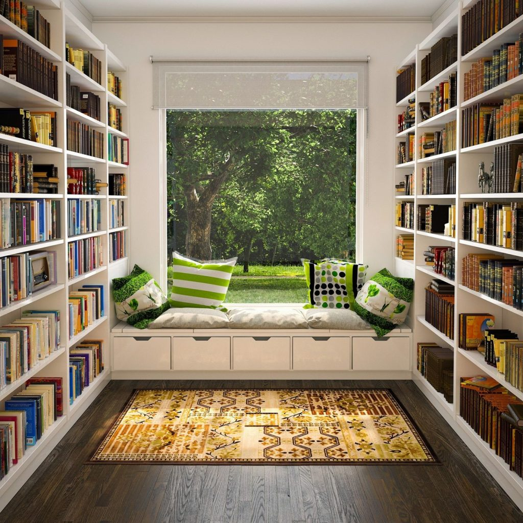 book reading rooms to love and lust after