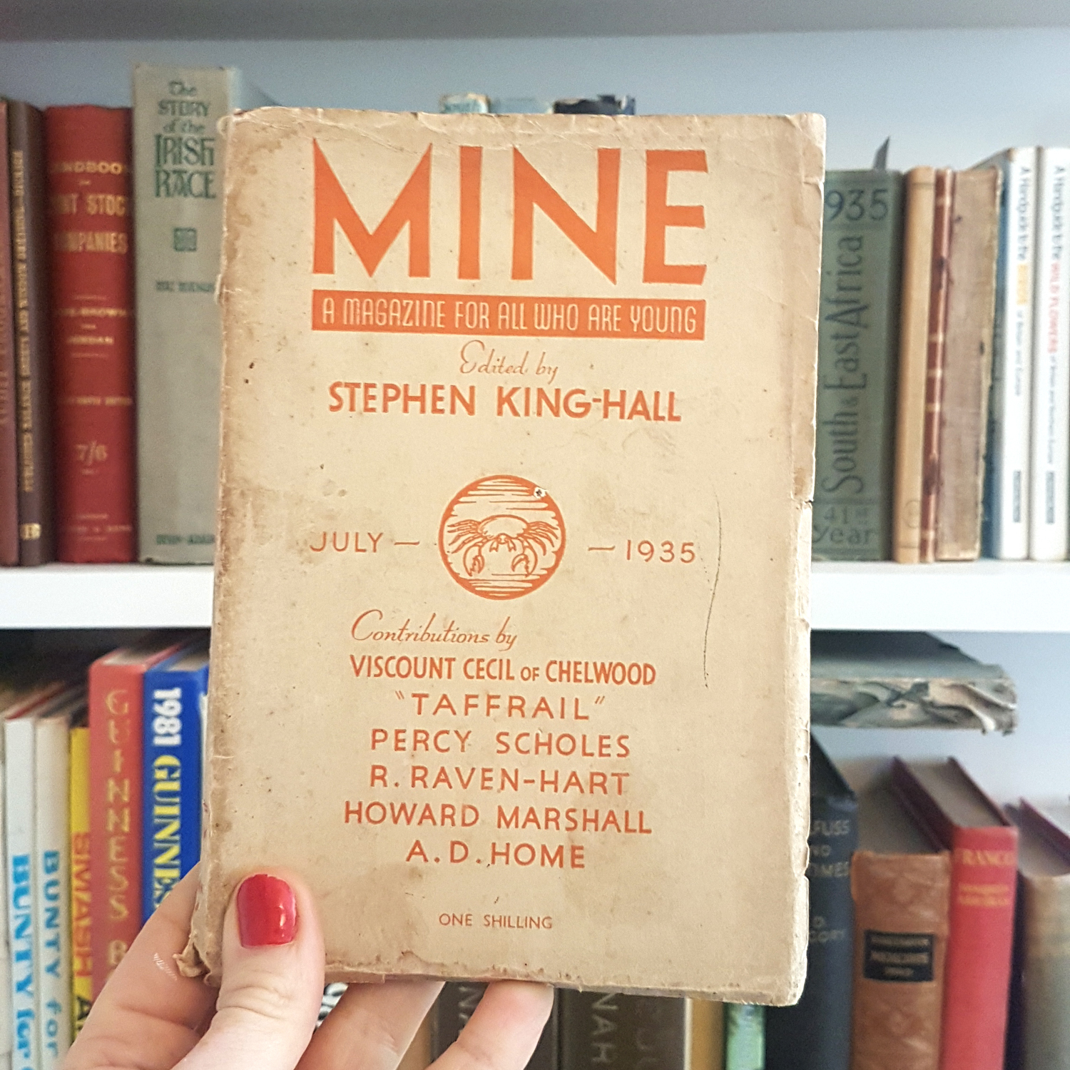 My book life Mine a vintage magazine for young teens from 1935