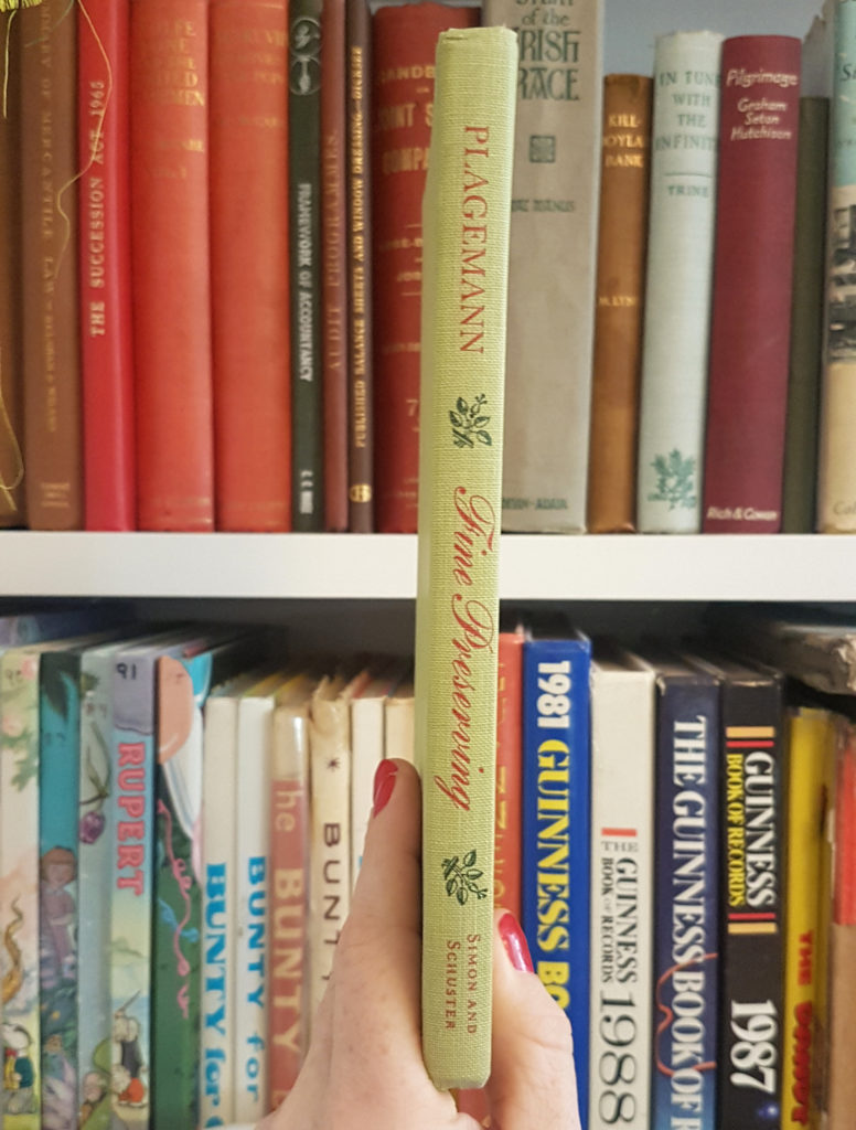 Fine Preserving by Catherine Plagemann 1967 vintage book spine from my book life finds