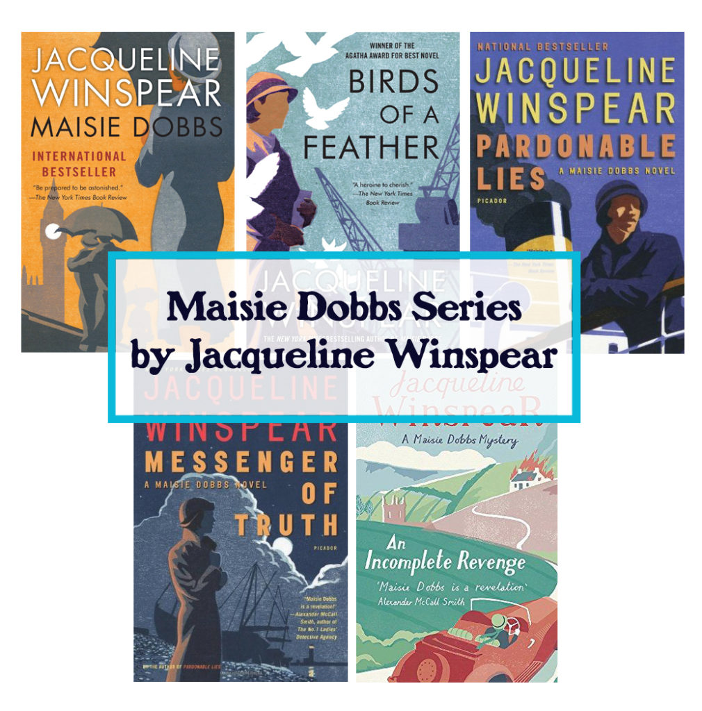 maisie dobbs series by jacqueline winspear