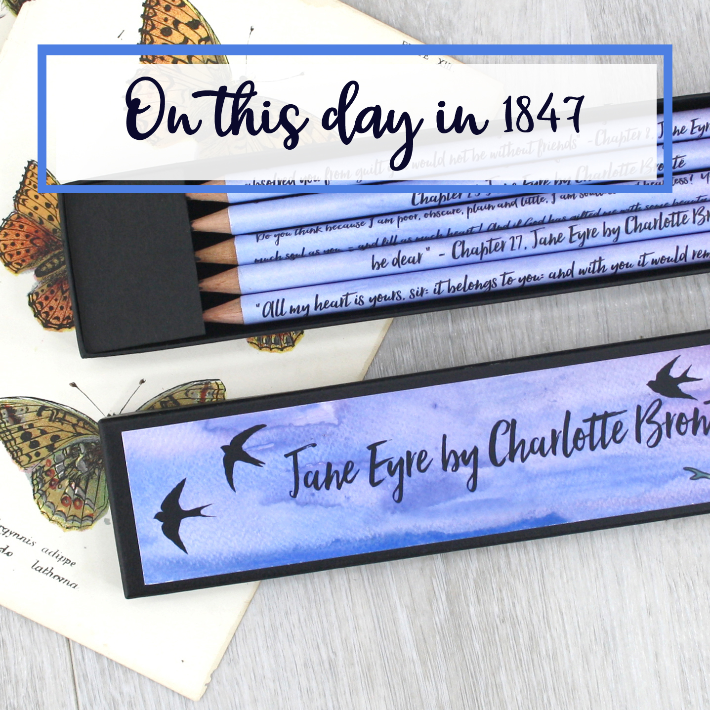on this day in 1847 Jane eyre was published 16th october