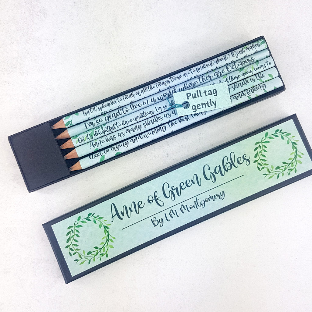 Anne of Green Gables Pencil Set
