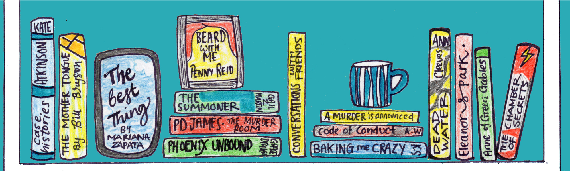 how I recorded the books I read in 2019