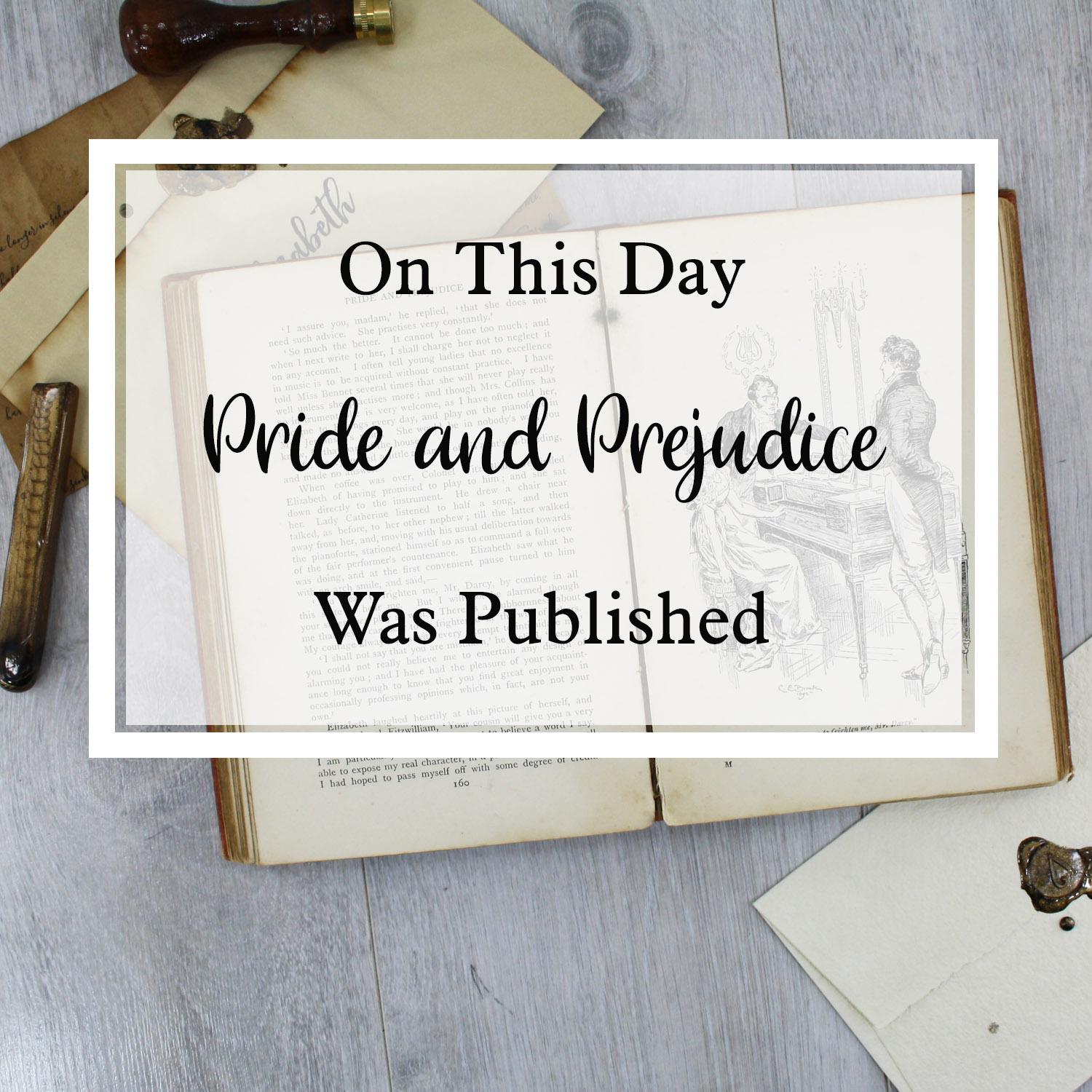 On This Day Pride and Prejudice was published