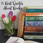 35 Best quotes About Books