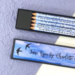 jane eyre quote pencil sets book gifts six0six