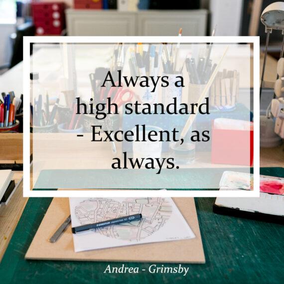 Always a high standard - Excellent, as always
