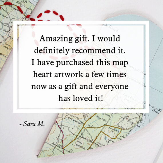 amazing gift I would definitely recommend it - map gifts customer reviews