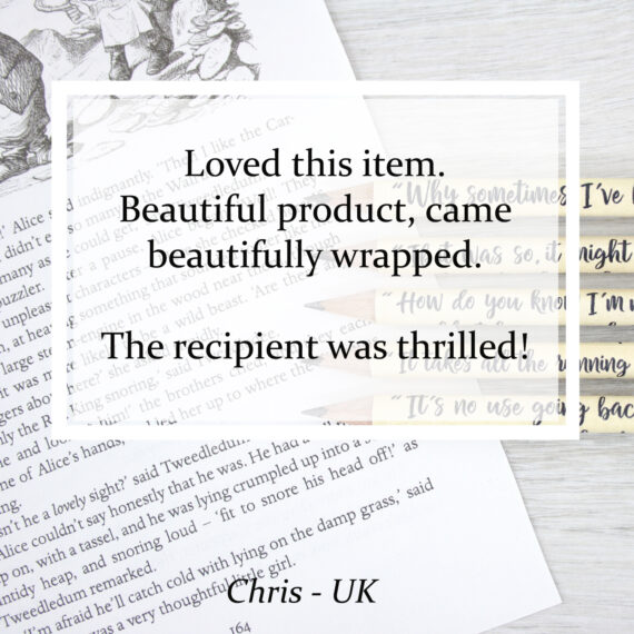 Loved this item. Beautiful product, came beautifully wrapped. The recipient was thrilled!