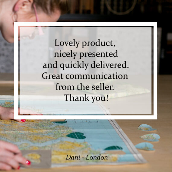 Lovely product, nicely presented and quickly delivered. Great communication from the seller. Thank you!